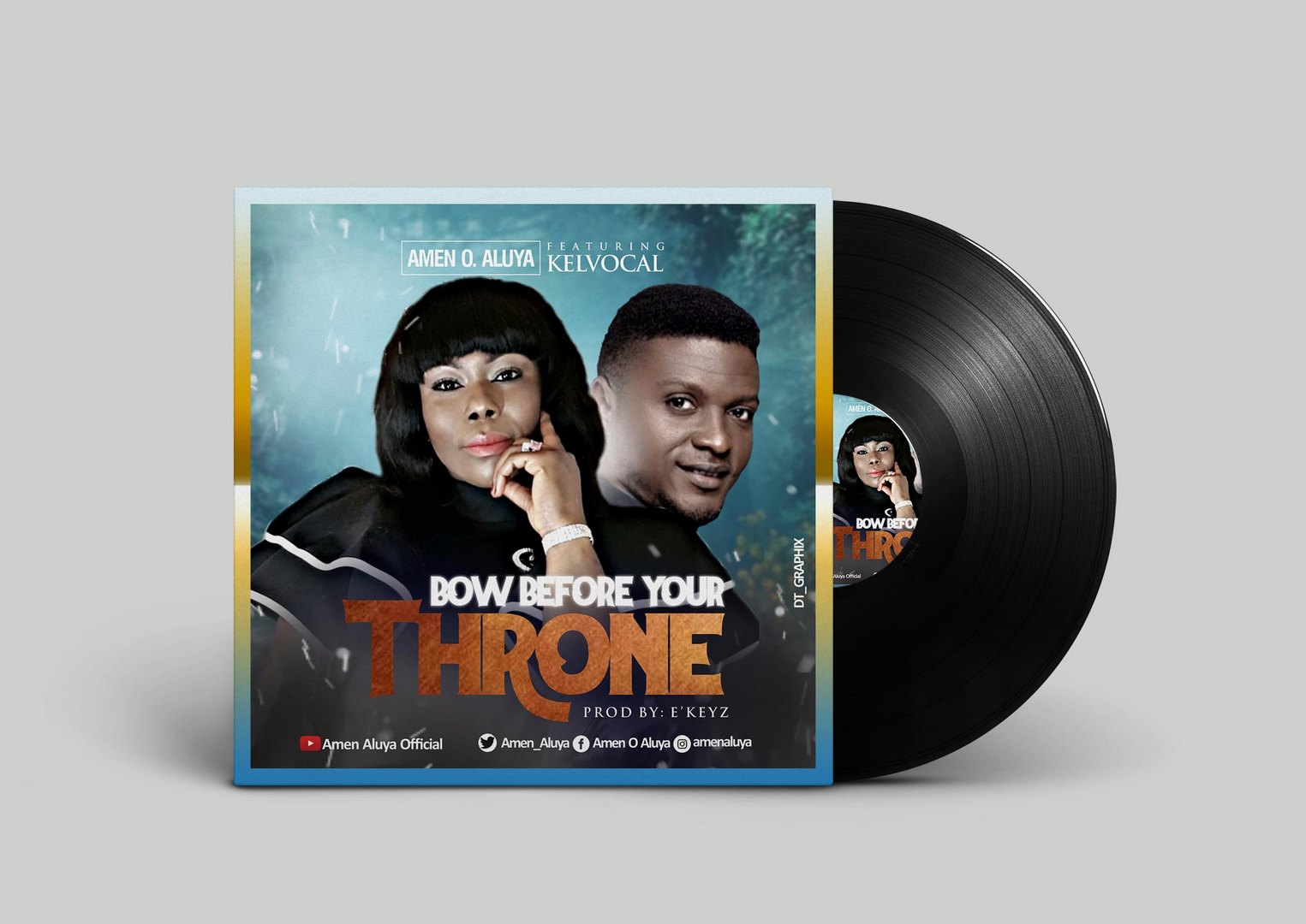 Bow Before Your Throne - Amen O Aluya Ft. Kelvocal